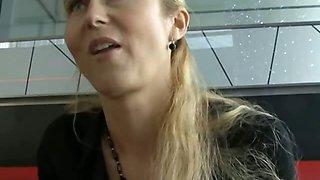 CZECH STREETS - Blonde MILF Picked up on Street