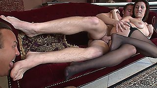 stepfather does anything to fuck his daughter (bisexual, ass-rimming, sm)