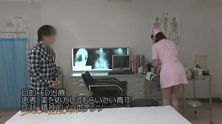 Amazing Japanese girl Yukiko Suo in Hottest Nurse JAV video