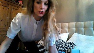 Posh Dressage Riding Mistress will punish you hard