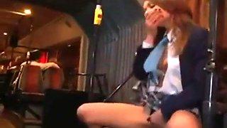 Alice miller on public bus in japan