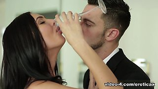 Hottest pornstars Marley Brinx, Seth Gamble in Fabulous Stockings, Anal sex scene