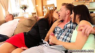 Hairy mom young milf and bi threesome Share With Your Mommy