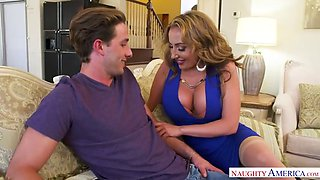 milf richelle ryan needs young cock! only at naughty america