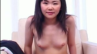 Rather flexible Japanese girlie Wakana Motoki gets her armpits tickled