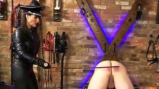 Incredible homemade BDSM, Latex adult scene