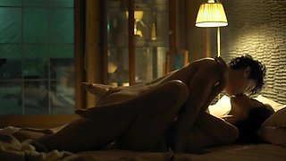 Young Businessman Romantic One Night Stand with Beautiful and Sexy Writer