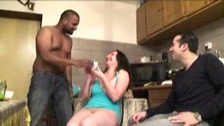 Housewife Barbara takes 2 cocks