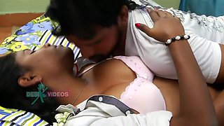 Aunty Romance With Lover Short Movie