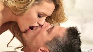 Divine blonde bitch Mia Malkova gets drilled well by her BF