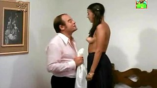 Perfect Latina Teen Teases Old man In a Retro Brazilian Porn Movie