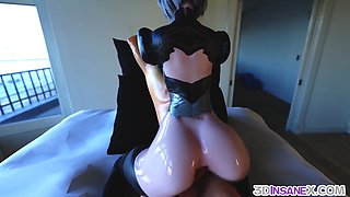 Big tits 3D babes fucked raw by big dicks
