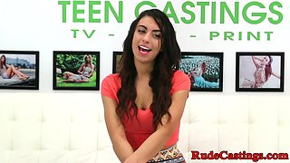 Brutal casting audition for innocent teen