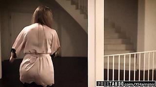 PURE TABOO Lena Paul's FIRST Airtight DP Gangbang