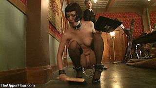 Cherry Torn & Bella Rossi in Service Session: Bondage Practice And Correcting Torn - TheUpperFloor