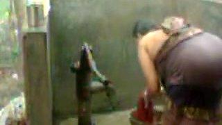 Big Boob Bhabhi Ope Bath