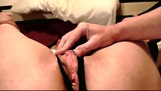 Milf Fingered Until Pussy Drips - Big Clit