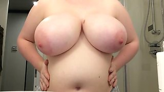 bathroom tits