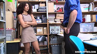 Hardcore forced fuck with ebony cutie Nia Nixon at a warehouse