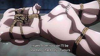 Helpless hentai girl with big tits gets fucked deep and hard