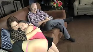 Mommy and Daddy Punish Sarah