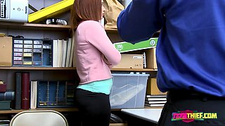 Innocent April proves to be guilty before being banged hard