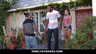 Adriana Maya & Misty Stone in Family Betrayals - FamilyStrokes