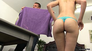 Alexa Grace is a cute blonde seduced for an amazing shag
