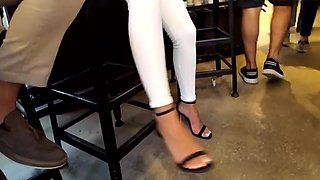 Amazing homemade Foot Fetish, Voyeur xxx video