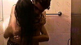 Fucking My Indian Girlfriend In Shower