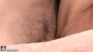 naughty husband gets their romantic session in the kitchen filmed