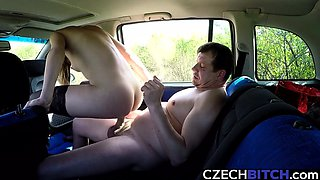 Lovely Whore Gets Fucked in Car