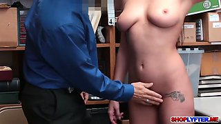 horny cop enjoys fucking with shoplifter karle grey
