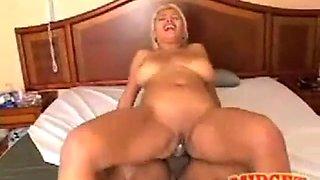 Blonde latina fuck black midget 10