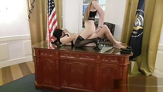 Asian secretary sex in the oval office