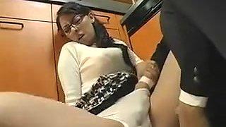 Best homemade Wife, Kitchen sex clip
