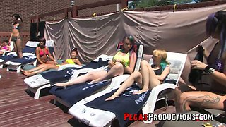 Perverted whores including bitch Vandal Vyxen gonna be fucked properly outdoors