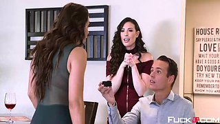 abigail mac, casey calvert in wedding belles scene 1