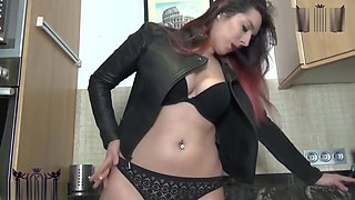 Sexy Leather Lingerie Boots Smoke