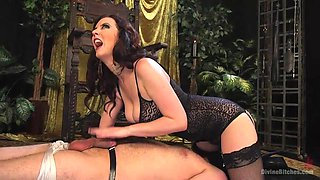 busty milf loves to punish and dominate