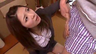 Exotic Japanese slut Natsuki Kitagawa in Fabulous Blowjob JAV movie