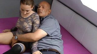 young redhair fucked by dad best friend 3