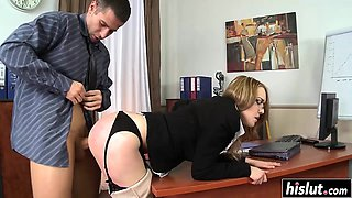 School drilling with sexy Kandall N
