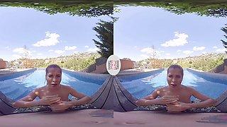 VIRTUAL TABOO - Super Hot Babe Sucks Dick At the Pool