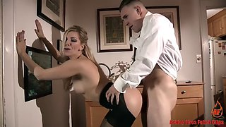 Taboo blonde mother