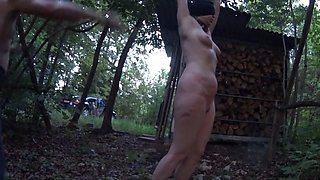 Fabulous homemade Outdoor, Slave xxx movie