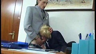 Granny Secretary Getting Fucked