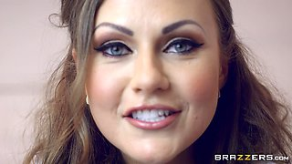 Perfect slutty and classy doctor Tina Kay destroyed and cummed on