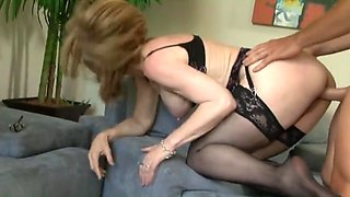 Mature mom seduce son in law