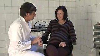 Doctor Fucks A Prego Milf pregnant preg prego preggo